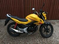 Honda CBF125 CBF 125 GLR Fuel Injection. Learner Legal. Great Bike with extras!