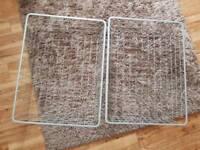2X Ikea Wardrobe Wire Storage Baskets