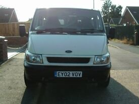 ford transit 2.4td (AUTOMATIC) 5 seater