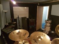 Monthly hire rehearsal studio for bands Manor House N4