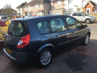 2007 RENAULT GRAND SCENIC, 1.8 DIESEL AUTOMATIC, 7 SEATER HALF LEATHER SEATS, AUTO/ford galaxy/s max
