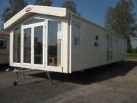 Huge unique static caravan for sale on luxury leisure park/2.3k site fees/lakes/golf/pet friendly
