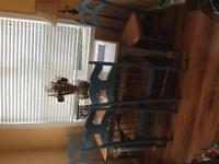 Solid wood Hutch/Table/Chairs