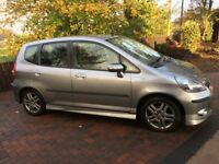 HONDA JAZZ - 5 DOOR SPORT, 2007 WITH FULL SERVICE HISTORY - CHEAP CAR