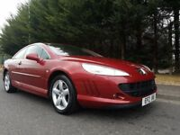 SEPTEMBER 2010 PEUGEOT 407 COUPE SPORT 2.0 HDI 163BHP 6SPEED STUNNING 407 GREAT SPECIFICATION + NAV