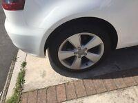 Genuine Audi A3 8v 17'' Alloys & Tyres