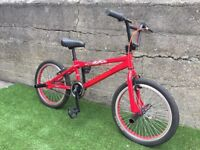 Conor skull certified BMX bike, used once, unwanted present