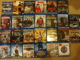 Selection of Blu Ray movies