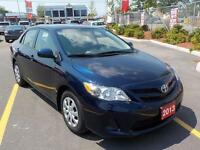 2013 Toyota Corolla CE, 5sp,  A/C Low KM's!