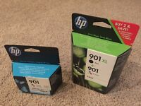 HP Officejet 901 printer ink x3 *new*