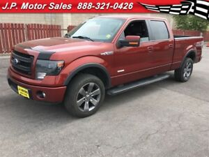 2014 Ford F-150 FX4, Crew Cab, Navigation, Leather, 4x4