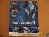 For sale music creator 5 complete program