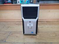 Dell Precision T1600 Xeon E3125 QUAD CORE 3.30GHz 8GB RAM 500GB HDD Win 7 PC