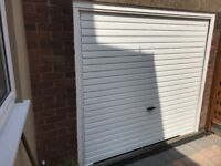 SINGLE UP & OVER GARAGE DOOR WHITE