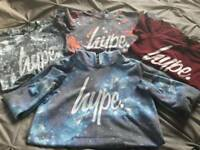 Boys Hype tops bundle are 11-12