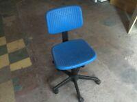 Blue computer office chair