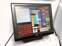 POS Uniwell AX-3000 TouchScreen 4 Fast Food Restaurant Pub Cafe Chip Shop Pos Cash Register