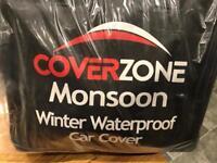 Winter waterproof car cover