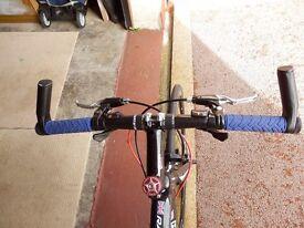 Hybrid. Super lightweight racing bike.