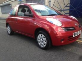 NISSAN MICRA 1.2 S 3dr (red) 2005