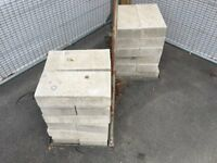 Concrete Block for sale. Previously used as ballast. approximately 500 for sale. 75p each