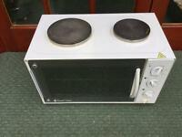 RUSSEL HOBBS CAMPING OVEN, TWIN HOB AND GRIL.