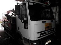 2004 Iveco Tector 7.5T PEU/ Crane Wagon/ Mobile Drilling Rig