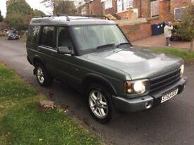 2004/53 Land Rover Discovery 2 2.5 TD5 Landmark (7 Seats)..Rare Colour..Bargain!