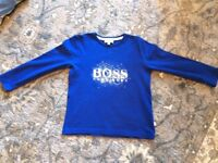 Boys Hugo boss top age 5