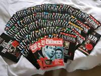 Complete collection (150+) of murder casebook magazines from the 1980-90's
