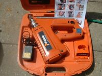 PASLODE IM350 FIRST FIX NAIL GUN KIT RECENT SERVICE