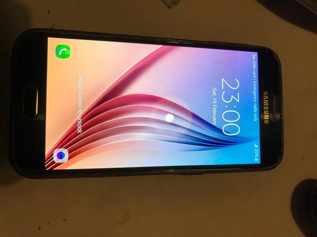 Samsung S6 32gbin Enfield, LondonGumtree - Hi for sale I have a Samsung 32gb smartphone in good condition.Unlocked to any network Selling cheap as I need cash 150ono