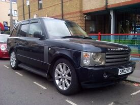 Range rover estate automatic 3.0 looks nice and drives perfect MOT UNTIL SEPTEMBER