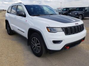 2018 Jeep Grand Cherokee Trailhawk| Leather| UConnect| Heated Se
