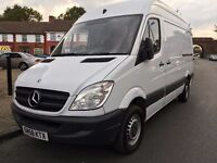 2009 MERCEDES SPRINTER MWB.1 OWNER.BRILLIANT DRIVE.RECENTLY SERVICED. E/W. CENTRAL LOCKING.