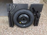 Mazda CX5 temporary wheel complete with jack and polystyrene boot inserts