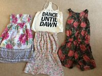 Ladies summer bundle size 8/10 New