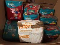 Pamper nappies and pants bundle (2bundles) please see pictures!