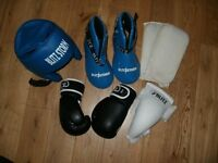 Martial Arts Sparring Gear - Kids Age 8-12
