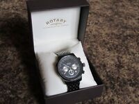Watch mens Rotary Chronograph - Boxed