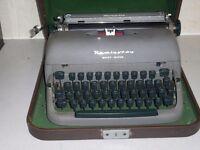 60 year old remington type writer