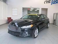 2014 Ford Fusion SE 18'' MAGS,NAVIGATION,IMPECCABLE Black on bla