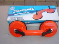 SILVERLINE DOUBLE SUCTION PADS (2)