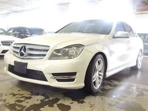 2012 Mercedes-Benz C-Class 4 MATIC, NAVIGATION, SUNROOF, ALLOYS