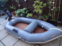 Avon Redcrest 8ft inflatable Dinghy Boat Tender