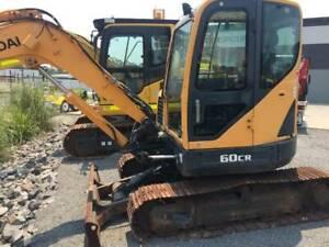 Hyundai R 60CR-9 Excavator Archerfield Brisbane South West Preview