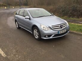 Mercedes R320L CDI New mot,full service history SE model with command nav & reversing cam great car.