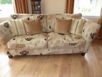 Attractive Sofa and Love Seat with Storage Footstool