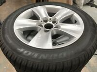 Genuine BMW Winter 17''Wheels Set for 5 or some 6 series F10 F11 F12 F13