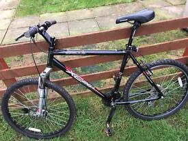 Large men's mountain bike